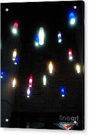 Multi Colored Lights Acrylic Print
