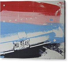 Multicolor Fender Acrylic Print by David Studwell
