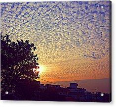 Multicoloured Sky Acrylic Print