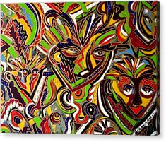 Multiple Personalities Acrylic Print