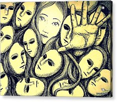 Multiple Personalities Acrylic Print