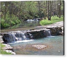 Multiple Waterfalls Acrylic Print