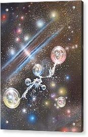 mULTIVERSE 227 Acrylic Print by Sam Del Russi