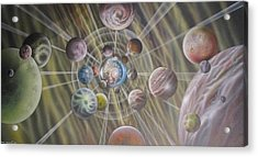Multiverse 582 Acrylic Print by Sam Del Russi
