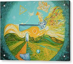 Multiverse Portal Acrylic Print