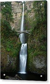 Multnomah Falls Acrylic Print by Eric Foltz