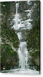 Multnomah Falls Ice Acrylic Print