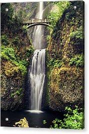Multnomah Falls Lower Acrylic Print
