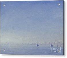 Mumbai Harbour Acrylic Print by Derek Hare