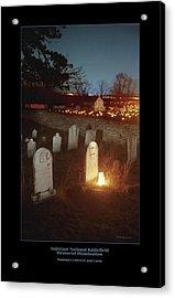 Mumma Cemetery And Farm 96 Acrylic Print by Judi Quelland