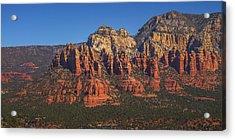 Munds Mountain Panorama Acrylic Print