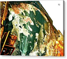 Mural Of Destruction Acrylic Print by Chuck Taylor