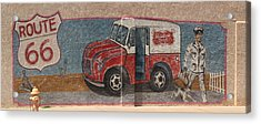Mural On Historic Route 66 Acrylic Print