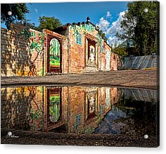 Mural Reflected Acrylic Print by Christopher Holmes