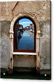 Murano Reflection Acrylic Print