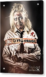 Murderer Caught At The Scene Of The Crime Acrylic Print by Jorgo Photography - Wall Art Gallery
