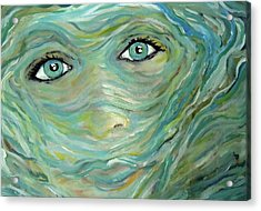 Murky Water Acrylic Print by Made by Marley