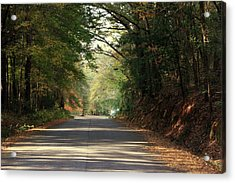 Acrylic Print featuring the photograph Murphy Mill Road by Jerry Battle