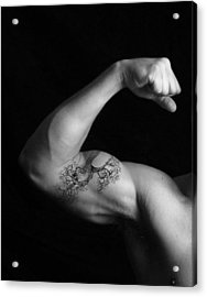Muscle Growth Acrylic Print