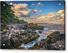 Muscongus Bay Acrylic Print by Rick Berk