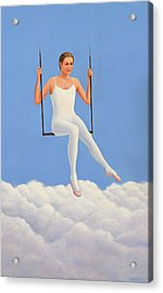 Muse Of Midday Acrylic Print by Laurie Stewart
