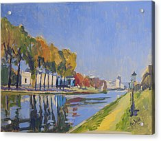 Musee La Boverie Liege Acrylic Print by Nop Briex