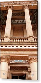 Acrylic Print featuring the photograph Museum And Art Gallery Entrance by Baggieoldboy