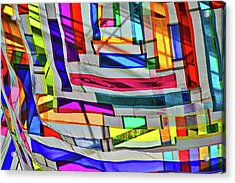 Museum Atrium Art Abstract Acrylic Print