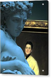 Museum Critic Acrylic Print