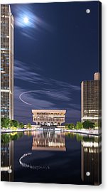 Museum Flyby Acrylic Print