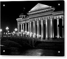 Museum Of Archaeology Acrylic Print by Rae Tucker
