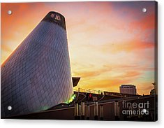 Museum Of Glass Tower#2 Acrylic Print