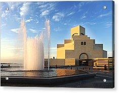 Museum Of Islamic Art Doha Qatar Acrylic Print