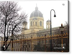Museum Of Natural History Vienna Acrylic Print by John Rizzuto