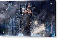 Music 776 Acrylic Print by Jani Heinonen
