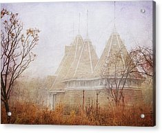 Acrylic Print featuring the photograph Music And Fog by Heidi Hermes