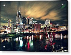 Music City Midnight Acrylic Print