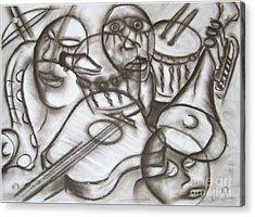 Music Dreams And Illusions Acrylic Print