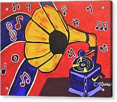 Music First Acrylic Print