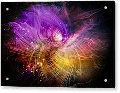 Music From Heaven Acrylic Print by Carolyn Marshall