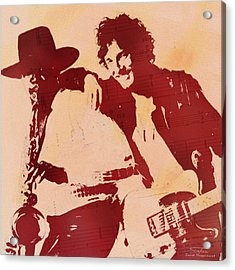 Music Icons - Bruce Springsteen I Acrylic Print