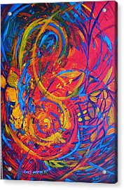 Music Acrylic Print by Jeanette Jarmon