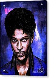 Music Legend  Prince Acrylic Print