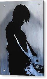 Music Man  Acrylic Print by Randy Steele