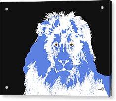 Acrylic Print featuring the digital art Music Notes 15 by David Bridburg