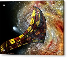 Music Of The Cosmos Acrylic Print by RC deWinter