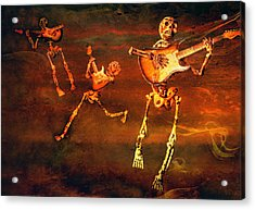 Acrylic Print featuring the photograph Music Of The Souls by Jeff Gettis