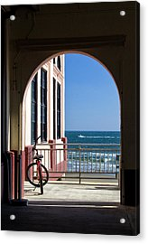 Music Pier Doorway View Acrylic Print