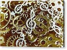 Music Production Acrylic Print