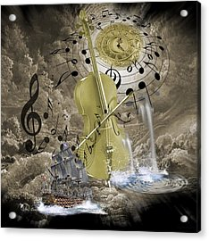 Music Time Acrylic Print